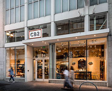 modern furniture store san francisco ca union square CB2