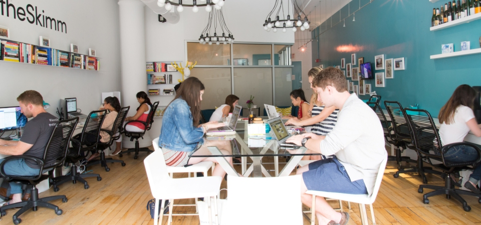 theSkimm's Office Makeover