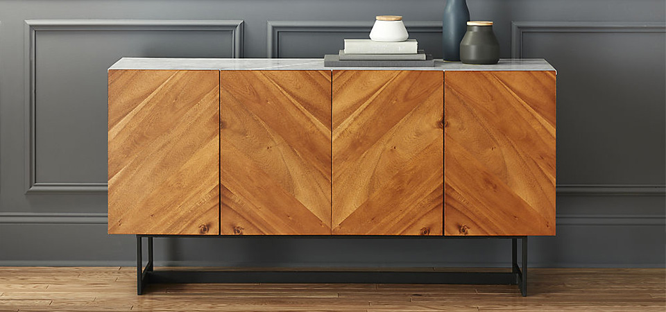 Credenza Turned Coffee Bar