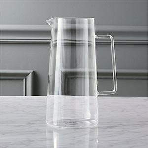 CB2 Trap Glass Pitcher